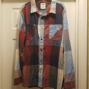 Mens L/S button up shirt